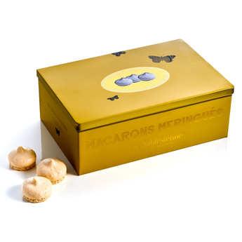 Biscuiterie La Sablésienne - Boîte métal macarons meringués au caramel