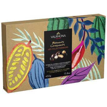 Valrhona - Coffret collection Equinoxe Valrhona (Amandes, noisettes, écorces d'orange enrobées)