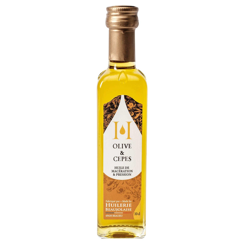 Huile d'olive & cèpes