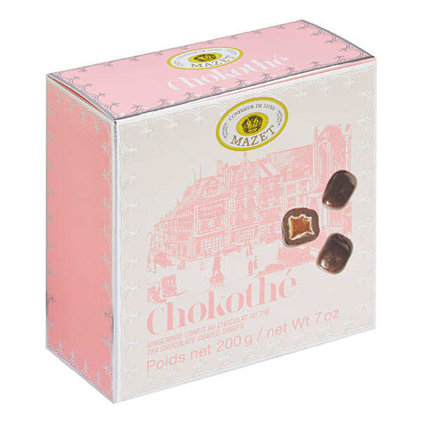 """Chokothé"" Candied Gingers in Tea-Scented Chocolate"