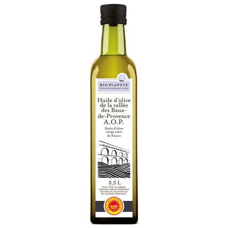 """BioPlanète - Organic virgin olive oil from """"Vallée des Baux"""""""