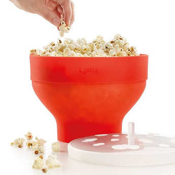 Lékué - Pop corn cooker