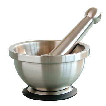 Mastrad - Stainless steel pestle and mortar