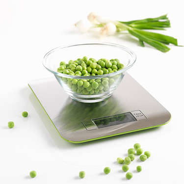 Stainless steel scale - colored