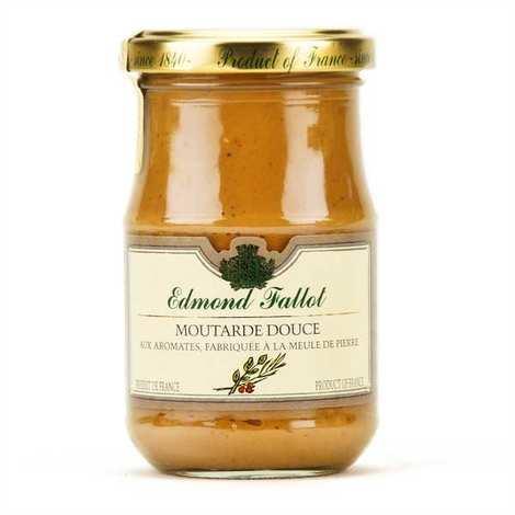 Fallot - Moutarde brune douce aux aromates et au vinaigre