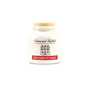 Fallot - Dijon mustard in an earthenware jar