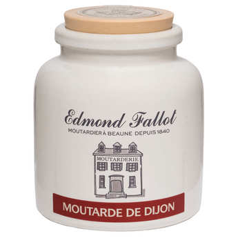 Fallot - Dijon mustard in an earthenware jar