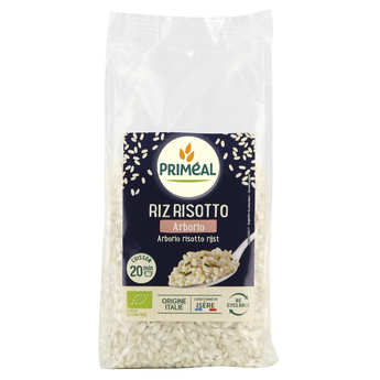 Priméal - Riz Arborio blanc bio d'Italie