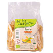 Ma vie sans gluten - Penne au Quinoa - pâtes bio sans gluten