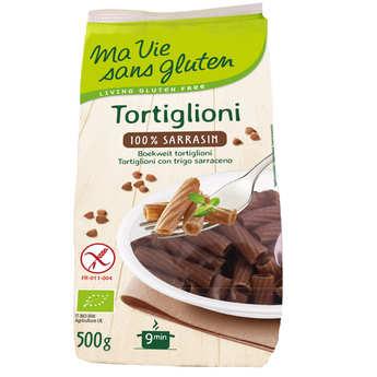 Ma vie sans gluten - Tortiglioni 100% sarrasin - pâtes bio sans gluten