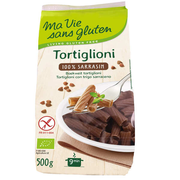 Tortiglioni 100% sarrasin - pâtes bio sans gluten