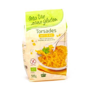 Ma vie sans gluten - Organic corn and rice pasta - gluten free