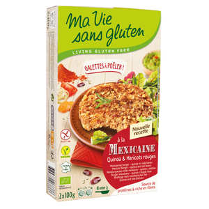 Ma vie sans gluten - Organic quinoa and red bean preparation gluten free