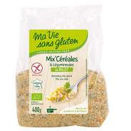 Ma vie sans gluten - Mix céréales & légumineuses au millet bio sans gluten