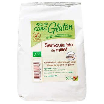 Ma vie sans gluten - Semoule de millet bio sans gluten