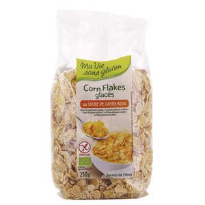 Ma vie sans gluten - Corn flakes glacés bio - sans gluten