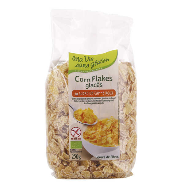 Corn flakes and gluten