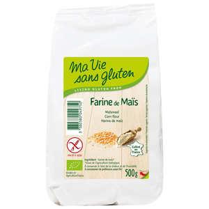 Ma vie sans gluten - Farine de maïs bio certifiée sans gluten