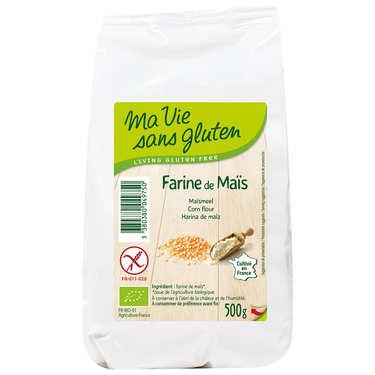 Farine de maïs bio certifiée sans gluten