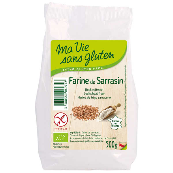 Organic buckwheat flour - Gluten free