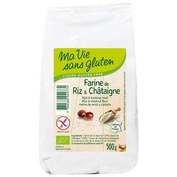 Ma vie sans gluten - Farine de riz & châtaigne bio - sans gluten