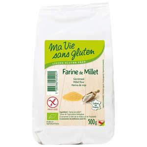 Ma vie sans gluten - Farine de millet bio - sans gluten