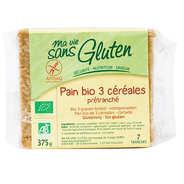 Ma vie sans gluten - Organic 3 cereals bread - Gluten free
