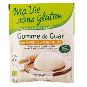 Ma vie sans gluten - Gomme de guar bio - sans gluten