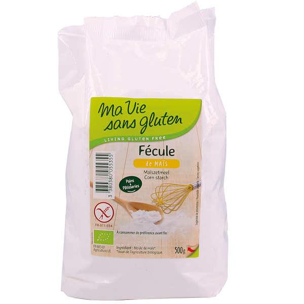 Fécule de maïs bio - sans gluten
