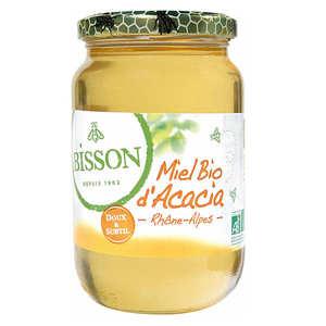 Bisson - Miel d'acacia bio du Rhône-Alpes