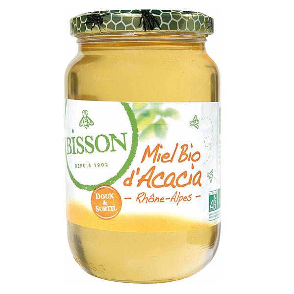 Miel d'acacia bio du Rhône-Alpes