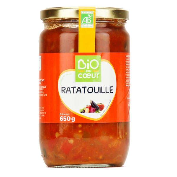 Ratatouille cuisinée aux herbes de Provence - Bio