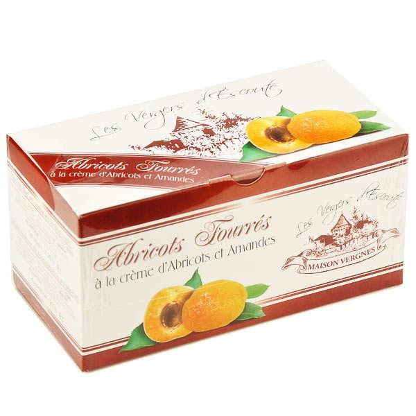 Abricots fourrés à la crème d'abricots