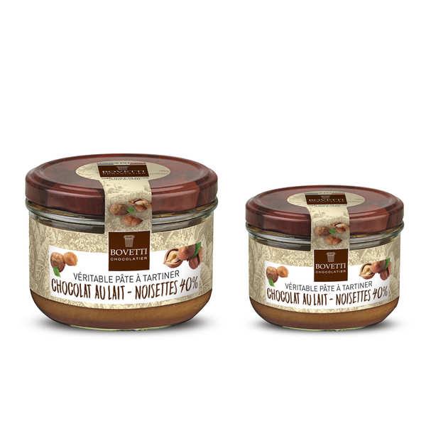 Véritable pâte à tartiner noisette chocolat au lait sans huile de palme