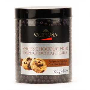 Valrhona - Dark chocolate pearls - Valrhona