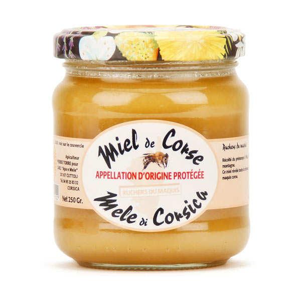 Miel de Corse AOC - Rucher du Maquis toutes fleurs