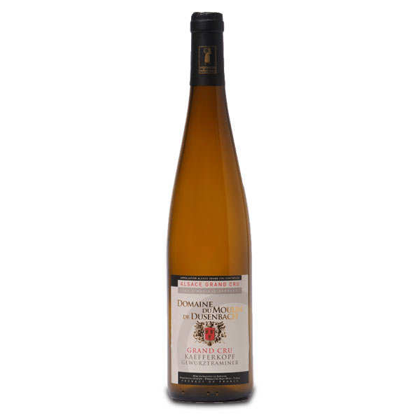 Wine from Alsace - Gewurztraminer Grand Cru Kaefferkopf - 13,5%