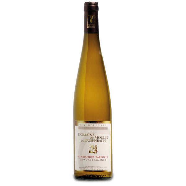 Wine from Alsace - Gewurztraminer Vendanges Tardives - 13%