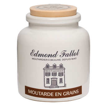 Fallot - Grain mustard in an earthenware jar