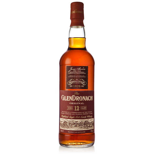 Glendronach Original Whisky - 12 years old - 43%