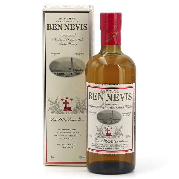 Whisky Ben Nevis Traditional Malt 46%