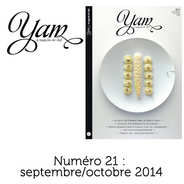 Yannick Alléno Magazine - French magazine about cuisine - YAM n°21
