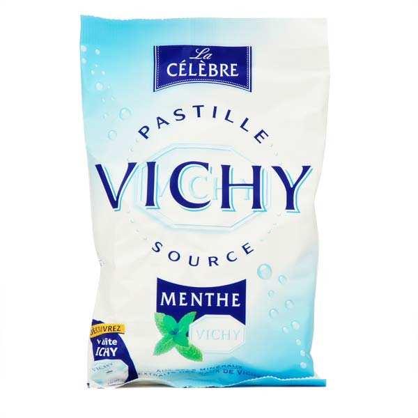 Pastilles Vichy source menthe