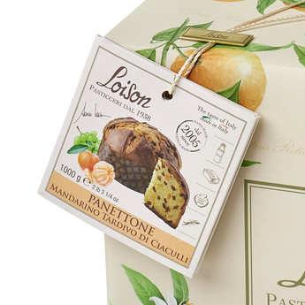 Dolciara A. Loison - Panettone à la mandarine de Ciaculli