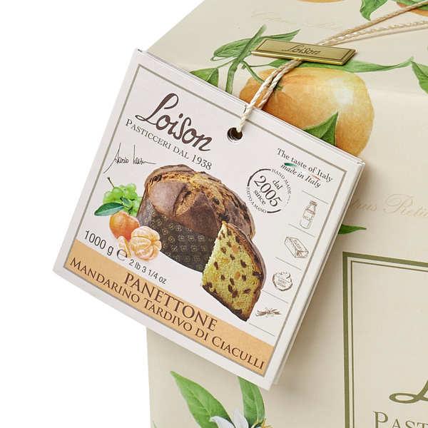 Panettone à la mandarine de Ciaculli