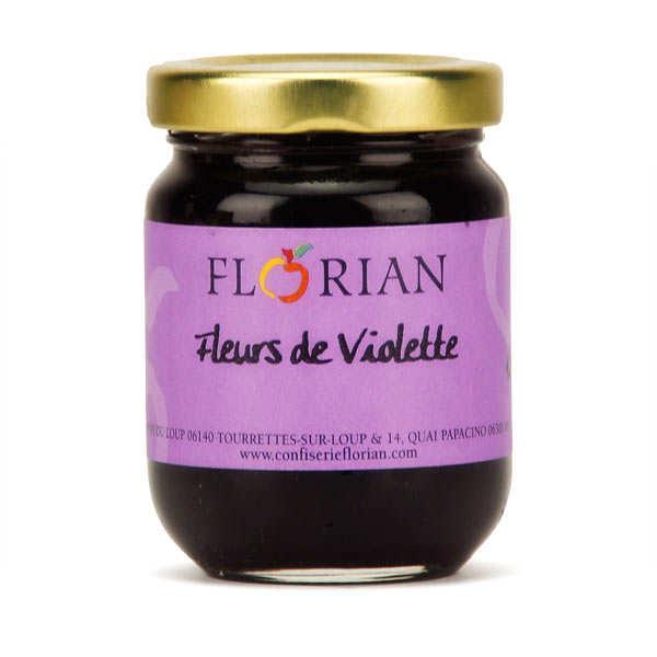 Confit de fleurs de violette - Florian