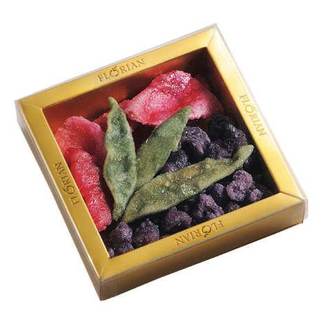 Florian - Fleurs cristallisées assorties