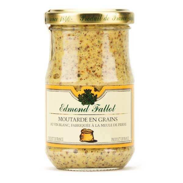 Moutarde l 39 ancienne en grains fallot fallot - Moutarde fallot visite ...