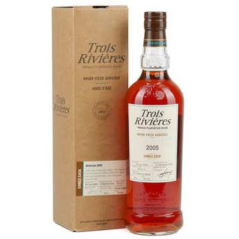 Trois Rivières - Trois rivières single cask 2004 - Old rum 43°