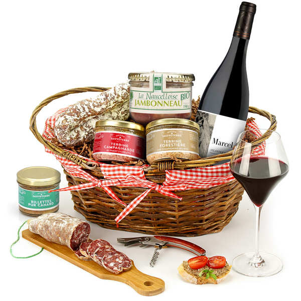 French Countryside Basket